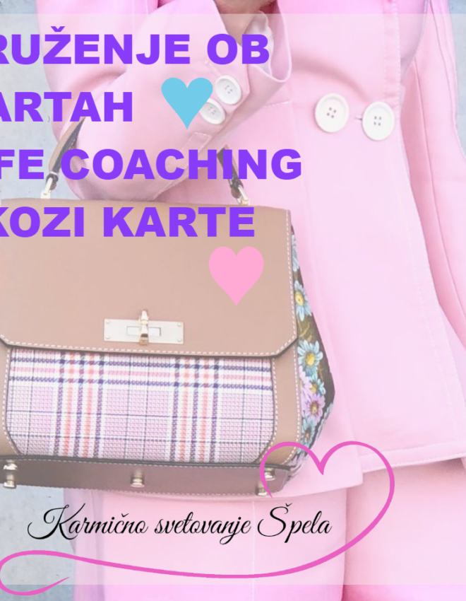 Life coaching skozi karte 🤹🍀🐞