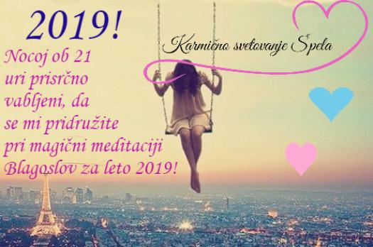 Blagoslov za leto 2019 ☯️🔯💝